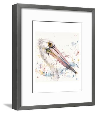 Pelicans About-Sillier than Sally-Framed Art Print