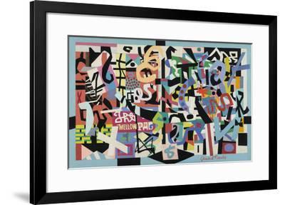 The Mellow Pad, 1945-1951-Stuart Davis-Framed Art Print
