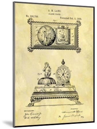 Alarm Clock, 1888-Dan Sproul-Mounted Giclee Print