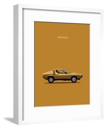 Alfa Romeo Montreal 1972-Mark Rogan-Framed Giclee Print