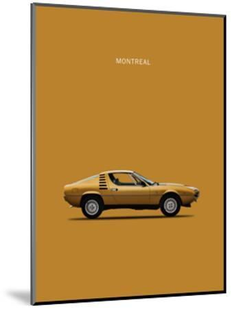 Alfa Romeo Montreal 1972-Mark Rogan-Mounted Giclee Print