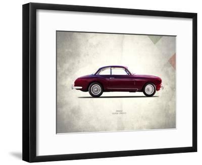 Alfa-Romeo Super-Sprint 1954-Mark Rogan-Framed Giclee Print