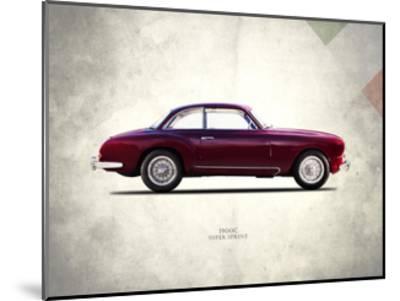 Alfa-Romeo Super-Sprint 1954-Mark Rogan-Mounted Giclee Print