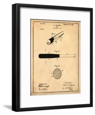 Bat, 1902-Antique-Bill Cannon-Framed Giclee Print