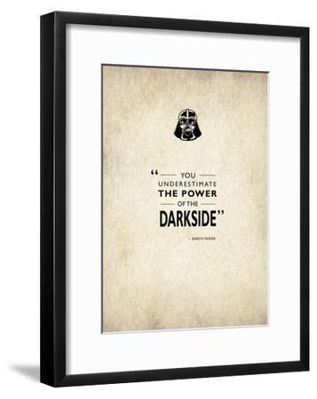 Darth Vader-Mark Rogan-Framed Giclee Print