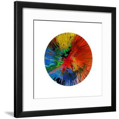 Circular Motion IV-Josh Evans-Framed Giclee Print