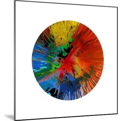 Circular Motion IV-Josh Evans-Mounted Giclee Print