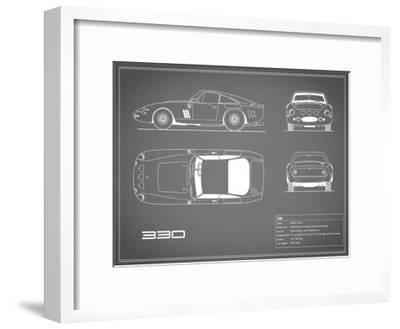 Ferrari 330-Grey-Mark Rogan-Framed Giclee Print
