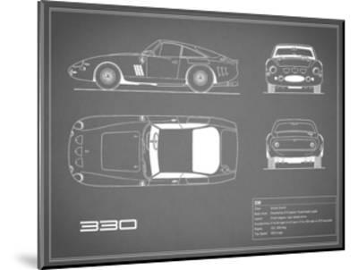 Ferrari 330-Grey-Mark Rogan-Mounted Giclee Print