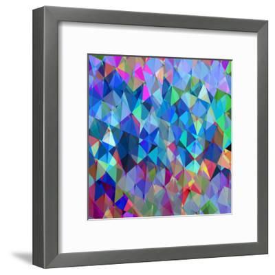 Geometric Squared IV-Jan Tatum-Framed Giclee Print