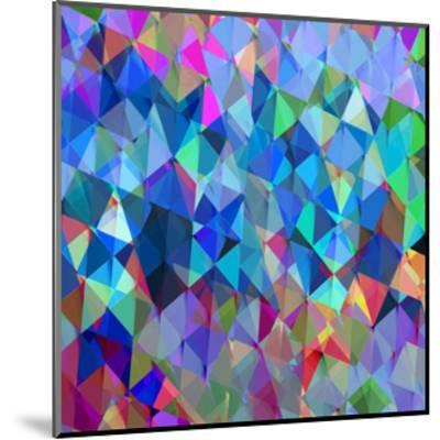Geometric Squared IV-Jan Tatum-Mounted Giclee Print