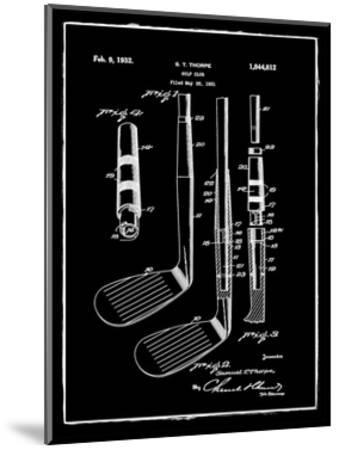 Golf Club, 1931-Bill Cannon-Mounted Giclee Print
