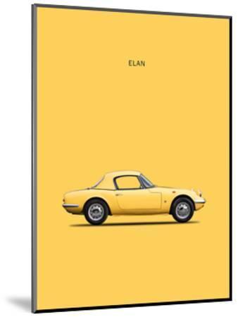 Lotus Elan 1965-Mark Rogan-Mounted Giclee Print