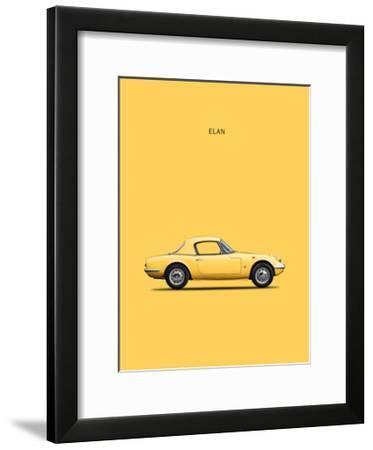 Lotus Elan 1965-Mark Rogan-Framed Giclee Print