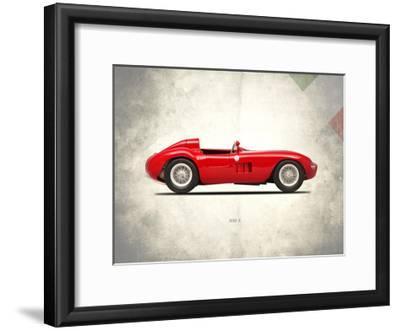Maserati 300-S 1955-Mark Rogan-Framed Giclee Print