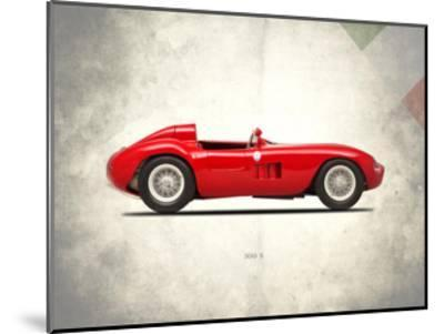 Maserati 300-S 1955-Mark Rogan-Mounted Giclee Print