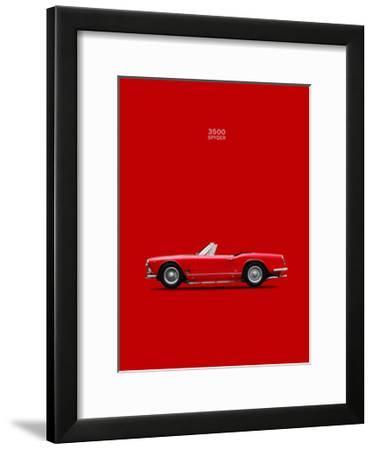 Maserati 3500 Spyder 1959-Mark Rogan-Framed Giclee Print