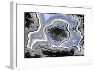 Steel Blue Agate-Danielle Carson-Framed Giclee Print