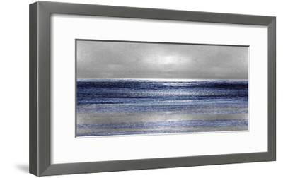 Silver Seascape II-Michelle Matthews-Framed Giclee Print