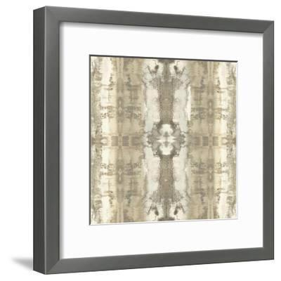 Patterns in Neutral-Ellie Roberts-Framed Giclee Print