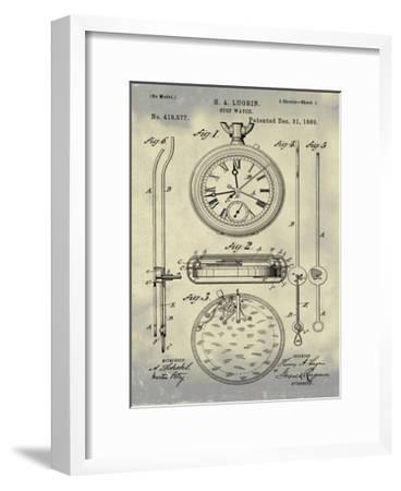 Stop Watch II, 1889-Antique II-Bill Cannon-Framed Giclee Print