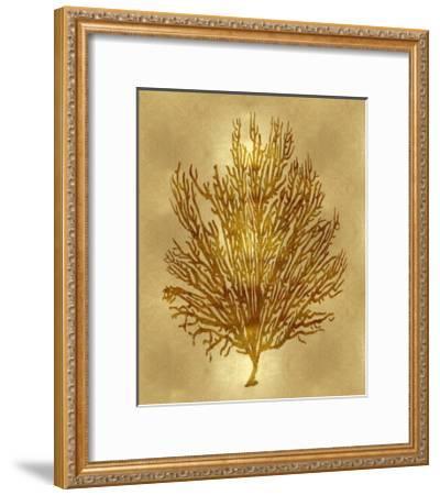 Sea Life - Gold V-Melonie Miller-Framed Giclee Print