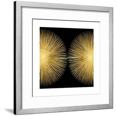 Sunburst on Black II-Abby Young-Framed Giclee Print