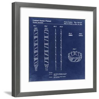 Warhol Watch, 1991-Antique Blu-Bill Cannon-Framed Giclee Print