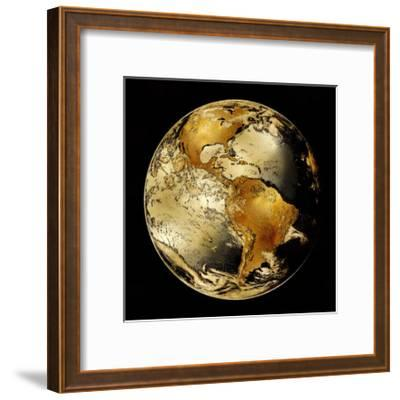 World Turning IV-Russell Brennan-Framed Giclee Print