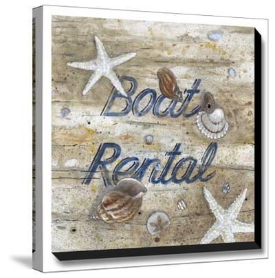 Boat Rental-Arnie Fisk-Stretched Canvas Print