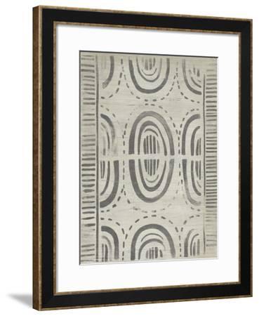 Mudcloth Patterns VI-June Erica Vess-Framed Giclee Print