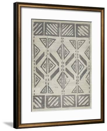 Mudcloth Patterns VII-June Erica Vess-Framed Giclee Print