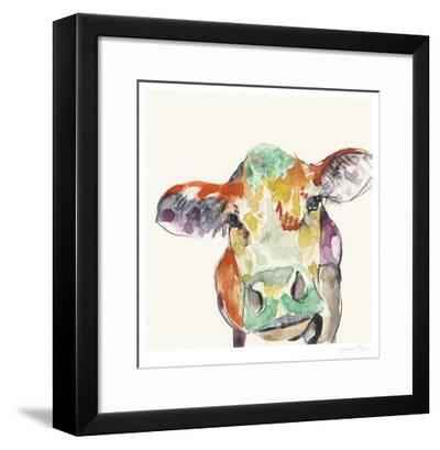 Hi Fi Farm Animals II-Jennifer Goldberger-Framed Limited Edition