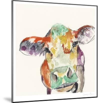 Hi Fi Farm Animals II-Jennifer Goldberger-Mounted Limited Edition