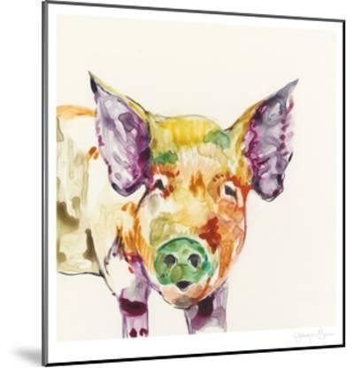 Hi Fi Farm Animals III-Jennifer Goldberger-Mounted Limited Edition