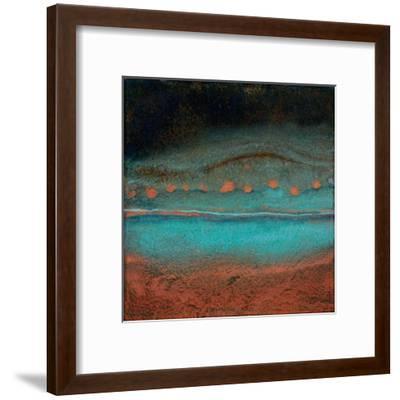 Bonfire Hill - Square-Jay Zinn-Framed Giclee Print