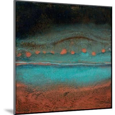 Bonfire Hill - Square-Jay Zinn-Mounted Giclee Print