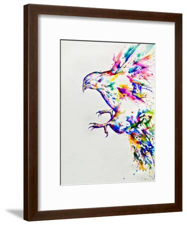 Descent-Marc Allante-Framed Art Print