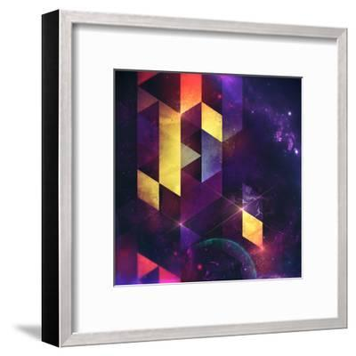 Cryxxyng Spyce-Spires-Framed Art Print