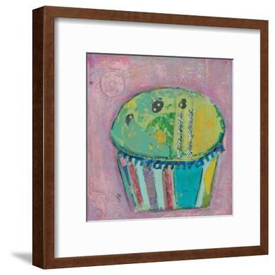 Cupcake Ii (Green Icing)-Julie Beyer-Framed Art Print