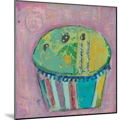 Cupcake Ii (Green Icing)-Julie Beyer-Mounted Art Print