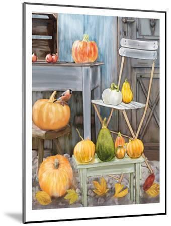 Fall Harvest-Advocate Art-Mounted Art Print
