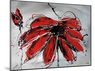 Fleur De Coeur-Annie Rodrigue-Mounted Art Print