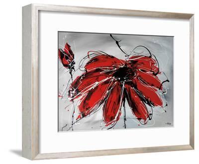 Fleur De Coeur-Annie Rodrigue-Framed Art Print