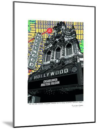 Hollywood Theatre Portland--Mounted Art Print