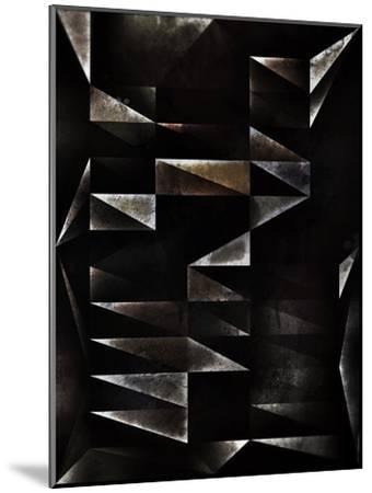 Hyr-Spires-Mounted Art Print