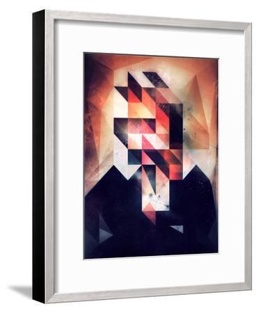 Mystyr Hyyd-Spires-Framed Art Print