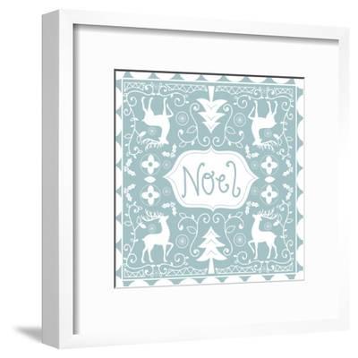 Noel-Advocate Art-Framed Art Print