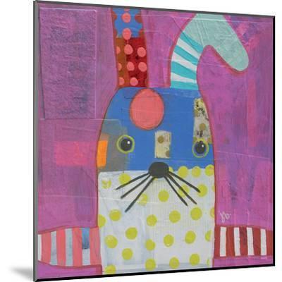 Rabbit-Julie Beyer-Mounted Art Print