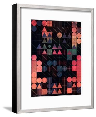 Shww Thyrww-Spires-Framed Art Print